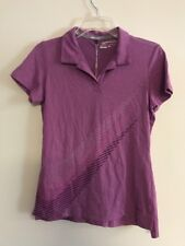 NIKE GOLF DRI FIT POLO SHIRT WOMAN'S  Standart Fit SIze Small Lilac  $65