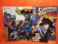 2008 2011 DC/Tangent  Trinity Comics Superman & Batman Comic Books Lot of 3