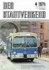 Der Stadtverkehr Heft 4/1974