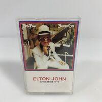 Elton John Greatest Hits Cassette 1974
