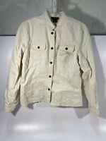 Womens Jones New York Cream Blazer Jacket Size Large - USED!