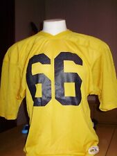 VINTAGE MICHIGAN WOLVERINES RUSSELL ATHLETIC 1970's JERSEY XL