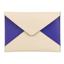 LOUIS VUITTON Epi Leather Pochette Envelope Clutch Bag Colorblock