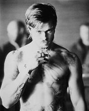 """BRAD PITT AS MICKEY FROM SNATCH bare knuckle boxing Poster Print 24x20"""""""