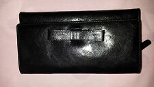 Cosgrove and Beasley - Black Leather Wallet - NWT- 2014 RRP $129.95