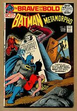 Brave and the Bold #101 - Batman and Metamorpho! - 1972 (Grade 9.2) WH