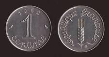 FRANCIA FRANCE 1 CENTIME 1962