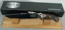BUCK KNIFE 0060CCSLE LIMITED EDITION RON HOOD HOODLUM COCOBOLO BLUED 5160 NEW
