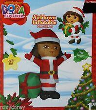 Christmas Nickelodeon Dora the Explorer Airblown Inflatable 4 ft Tall NIB