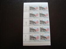 MONACO - timbre yvert et tellier n°778 x10 (coin date 24/1/69) n**-stamp monaco