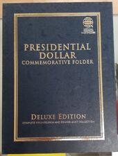 Whitman Presidential Dollar Folder Album Deluxe Edition New Unused