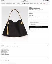 Gorgeous Genuine Rare Gucci Medium Shoulder Bag, Original Cost£1390 VGC