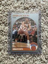 1990-91 NBA Hoops Basketball | Mark Jackson | #205 | Knicks | Error Card