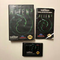Alien 3 (Sega Genesis, 1993) Complete CIB Tested Working Fast Shipping