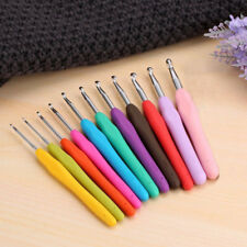 Clover Soft Handle Touch Ergonomic Crochet Needle Hook All Sizes 13.7cm Knitting