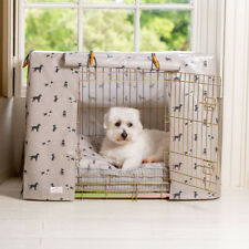 Lords & Labradors Cosmopolitan Dog Oilcloth Dog Crate Cover