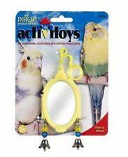 (3 Pack) JW Pet Activitoy Fancy Mirror Small Bird Attractive Delightful Bells