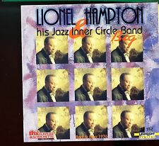 Lionel Hampton & His Jazz Inner Circle Jazz Band - Live Paris -  MINT