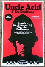 Uncle Acid & The Deadbeats 2015 Gig Poster Portland Oregon Concert