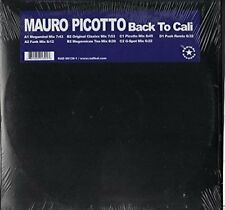 "Mauro Picotto | 2 12"" Set | Back to Cali (Megamind Mix, 7 mixes)"