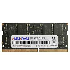 16GB 1X16GB PC4-2400T DDR4-2400MHz 260Pin 1.2V CL17 Laptop SO-DIMM NON-ECC RAM