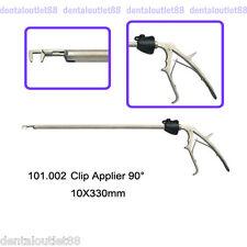 10x330mm Endoscop Middle Flat Titanium Clip 90° Applier Laparoscopy for Clinc CE