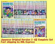 DRAGON BALL Akira Toriyama Complete Set of 1-42 Japanese Comics Manga Book DHL