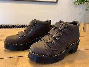 Dr Martens Coppola Boots Brown Size 7 41