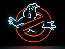 Ghostbusters Real Vintage Neon Light Sign Home Bar Game Room Collectible Sign