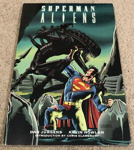 DC Comics Superman Aliens Graphic Novel PB - Jorgensen/Nowlan 1996 1st Ed 1st Pr