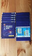 Panini Frauen women France 2019 tuten,bustina,sobre,pack rare Front code FRench