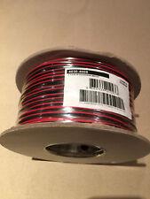 fil double 2X0,50mm² rouge/noir câble souple haut-parleur lampes 5...25,50,100M
