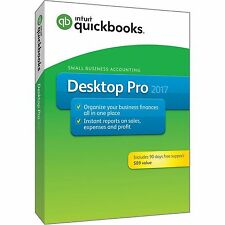 Intuit QuickBooks Pro for Windows 2017 Small Business Accounting 1 User