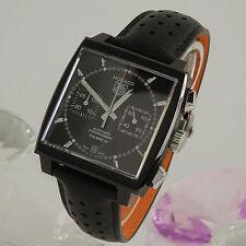 Mechanisch - (automatische) Armbanduhren aus Titan mit Chronograph-Erwachsene