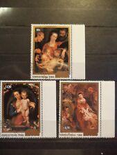 3 Briefmarken Satz, Cook Islands,Weihnachten 1986 gestempelt