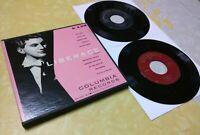 "1952 LIBERACE lot 2-Records / At the Piano Box Near Mint 7"" vinyl 45 RPM antique"