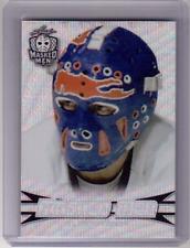GLENN RESCH 17/18 Leaf Masked Men Insert Card #09 Prismatic Silver Wave RARE