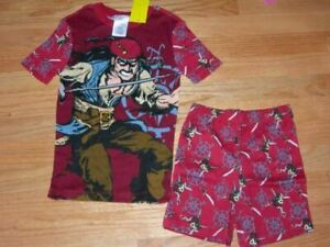 New Disney Store Exclusive Jack Sparrow Pirates Of The Caribbean Sparrow Pajamas