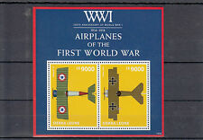 Sierra Leone 2014 MNH WWI 100th An First World War Airplanes 2v SS Fokker Stamps