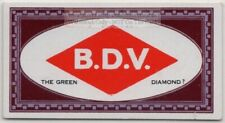 Optical Illusion Is The Diamond Red or Green 1920s Trade Ad Card