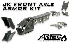 ARTEC Front Dana 44 Axle Armor Kit w/ Raised TB Bracket 07-16 Jeep Wrangler JK