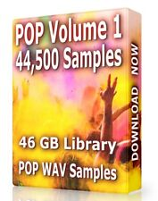 45,500+ POP Samples Loops POP Volume 1 WAV, Ableton, Logic, ProTools, FL Studio