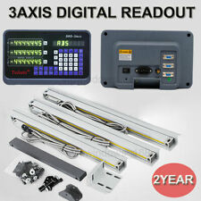3Axis Digital Readout DRO Display 3pcs Linear Scale TTL Glass Scales CNC Milling