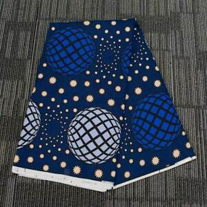 1 Yard African Batik Fabric Universe Double-sided Clothing Bag Sewing DIY Crafts