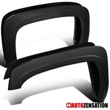 07-13 Silverado 1500/2500HD/3500HD Fleetside Pickup Black Fender Flares 4PC