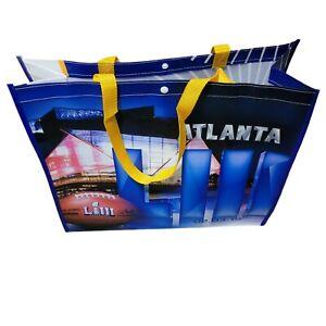 Super Bowl LIII 53 Reusable Souvenir Bags Atlanta NFL 2019 2.3.19 Visa Football