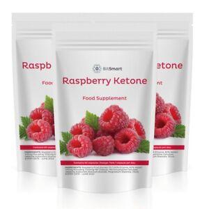 Raspberry Ketone Capsules, 60 Pills Carb Blocker, Keto Diet, Ketosis, Fat Burn