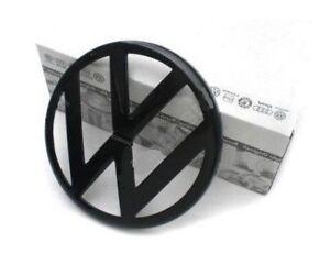 VW Golf IV Anteriore Cofano Griglia Emblema Logo Stemma Originale Nero