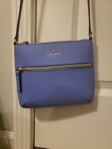 Kate spade small crossbody purse purple/indigo color