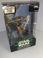 1998 Star Wars Power of The Force Stap And Battle Droid New & Sealed Kenner
